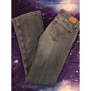 Levi's 524 Super Low Boot-Cut Jeans